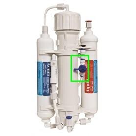 Aquili Impianto Osmosi 200 Litri al giorno 3 Stadi con Flushing Valve