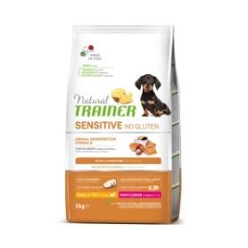 Trainer Natural Sensitive No Gluten Puppy & Junior Samon 2Kg
