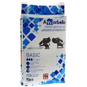 Tappetini Igienici Assorbello Con Polimeri e Adesivi 90x120 10pz