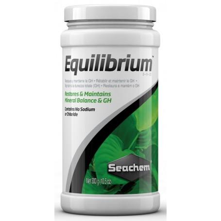 Seachem Equilibrium 300gr Integratore Sali minerali GH