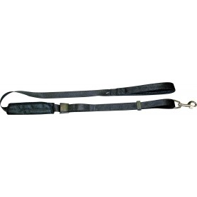 Cintura Di Sicurezza Con Guinzaglio Nylon Safety Belt 2,5X150Cm Nero
