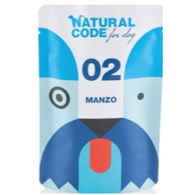 Natural Code Bustine Cane 02 Monoproteico Manzo 100Gr
