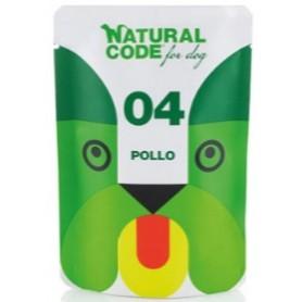 Natural Code Bustine Cane 04 Monoproteico Pollo 100Gr