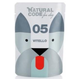 Natural Code Bustine Cane 05 Monoproteico Vitello 100Gr