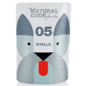 Natural Code Bustine Cane 06 Monoproteico Vitello 100Gr