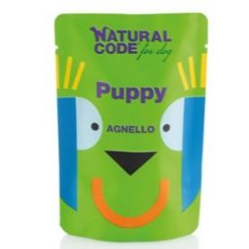 Natural Code Bustine Cane Monoproteico Agnello Puppy 100Gr