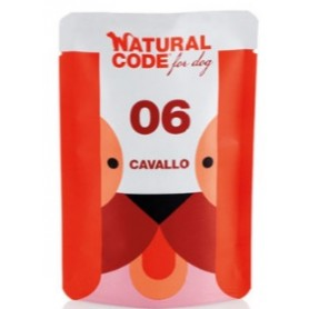 Natural CodeBustine Cane 07 Monoproteico Cavallo 100Gr