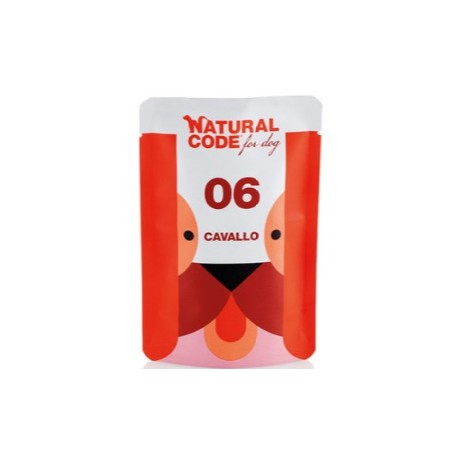 Natural CodeBustine Cane 06 Monoproteico Cavallo 100Gr