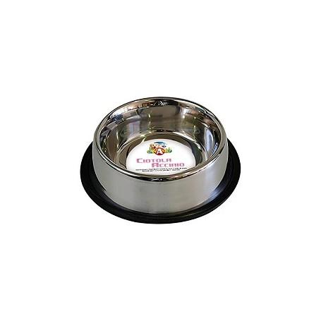 Ciotola Acciaio  Mac Gatto 0,24 L / Cm.16 Antiscivolo