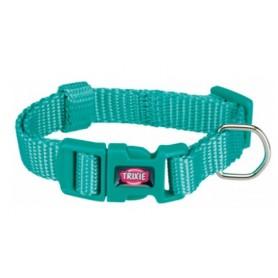 Trixie Collare Premium M- L 35-55Cm/20Mm Azzurro