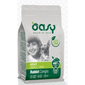 Oasy Cane One Protein Adult  Mini Coniglio 2,5Kg