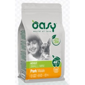 Oasy Cane One Protein Adult  Mini Maiale 2,5Kg