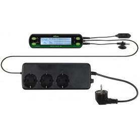 Reptiland Termostato Igrostato Digitale 16x4Cm Controllo Temperatura e Umidità Terrario