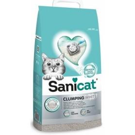 Sanicat Lettiera Clumping White Cotton 10Lt