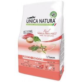 Unica Natura Gatto Unico Indoor Agnello, riso e piselli 1,5kg