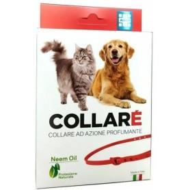 AHP Collare Naturale Olio di Neem Fragranza Fiorita per Cani e Gatti