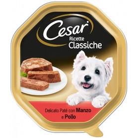 Cesar Ricette Classiche Patè Manzo Pollo 150gr