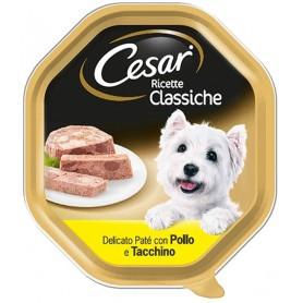 Cesar Ricette Classiche Patè Pollo e Tacchino 150gr