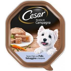 Cesar Ricette di Campagna Pollo Selvaggina e Verdurine 150Gr