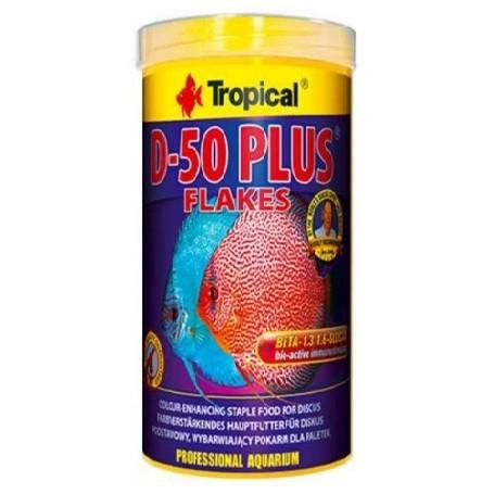 Tropical Discus D-50 Plus Flakes 250ml
