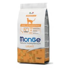 Monge Cat Light Tacchino 1,5Kg