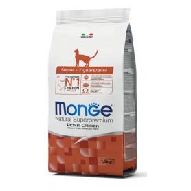 Monge Cat Senior Pollo 1,5Kg