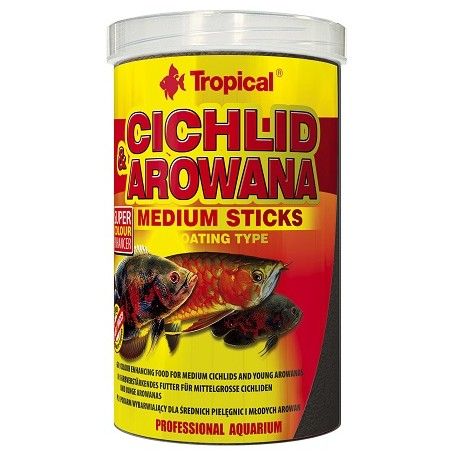 Tropical Ciclidi e Arowana Stick Medi