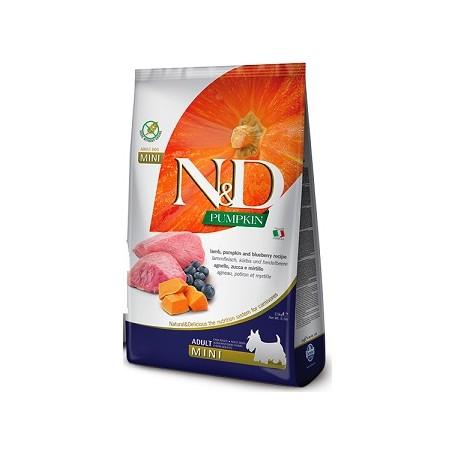Farmina N&D Grain Free Zucca Agnello e Mirtilli Adult Mini 2,5kg
