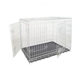 Box Per Cani Zincato 2 Porte  116x77x86