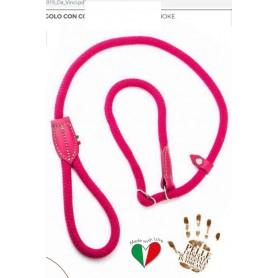 Da Vinci Collare Corda Cotone Colore Fucsia Diametro 12 Cm.50