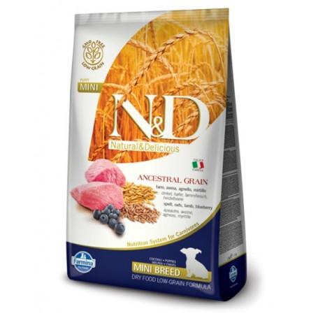 Farmina N&D Lowgrain Agnello E Mirtillo 800Gr Adult Mini