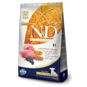Farmina N&D Lowgrain Agnello E Mirtillo 800Gr Puppy Mini